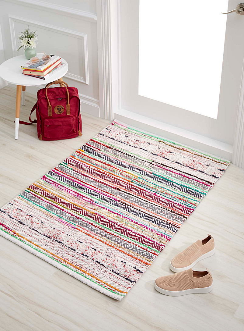 Artisanal woven rug  90 x 130 cm - Small Rugs - Assorted