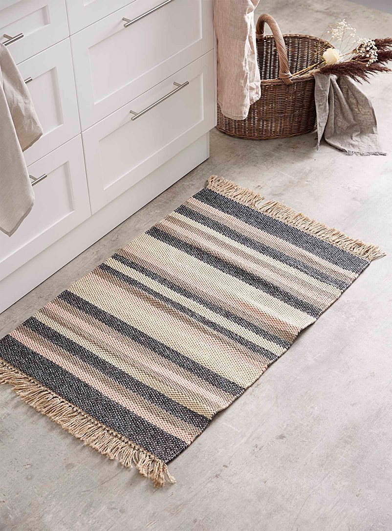 Neapolitan stripe rug  60 x 90 cm - Small Rugs - Assorted
