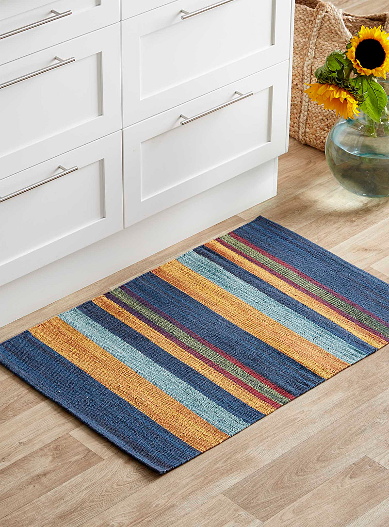 Simons Maison Assorted Nocturnal stripe rug  60 x 90 cm