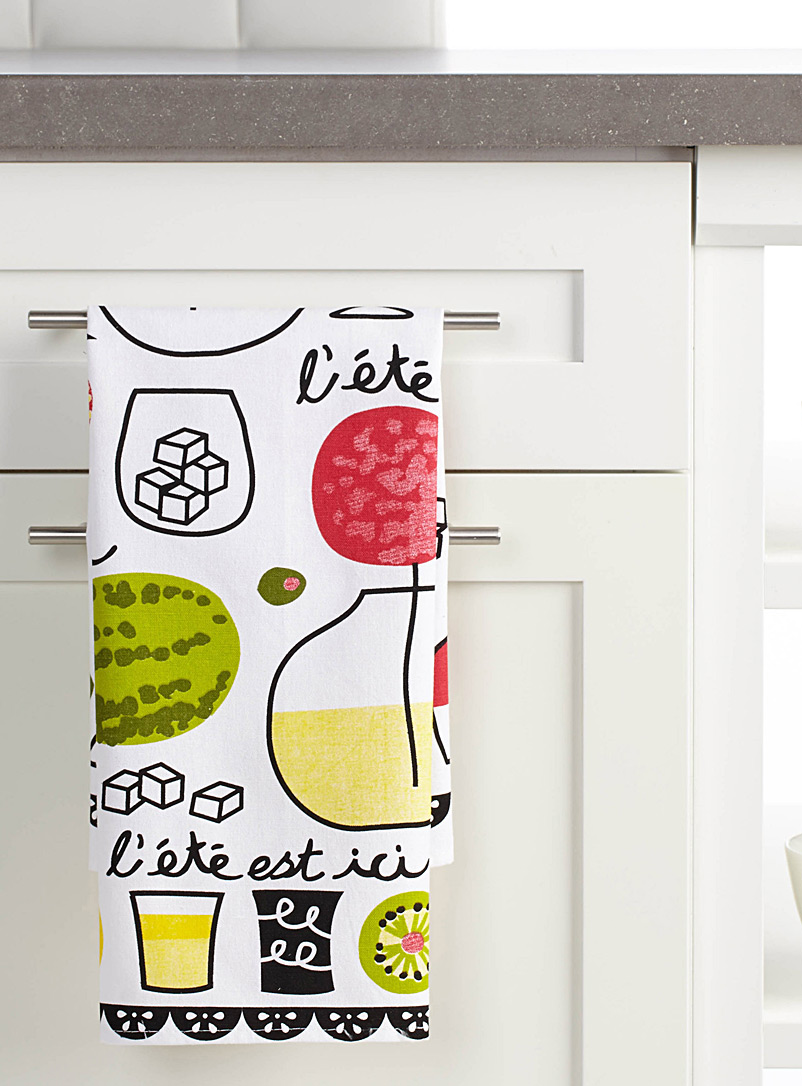 Fruit punch tea towel - Kitchen Linens - Assorted