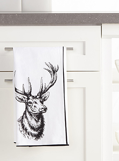 Oh my deer tea towel