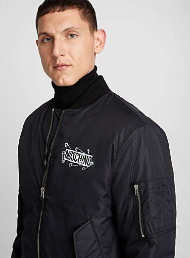 Safety Pin Teddy jacket
