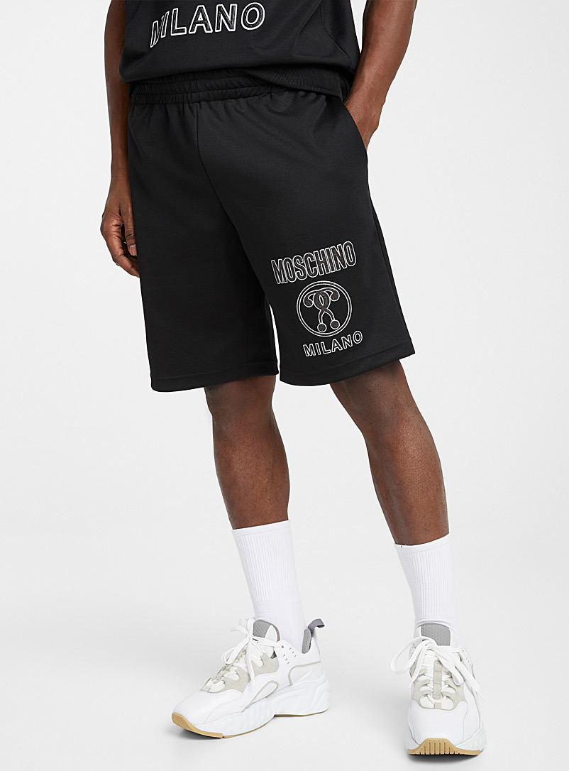 Moschino Black Athletic short for men