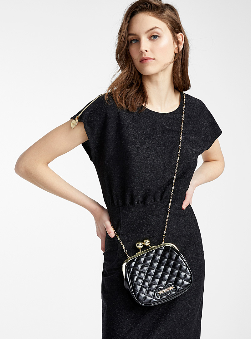 Chic quilted bag - Love Moschino