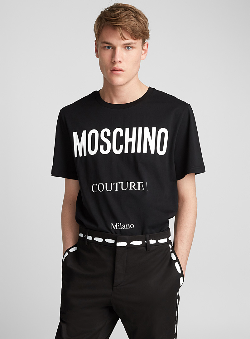 Essential stitched logo T-shirt - Moschino
