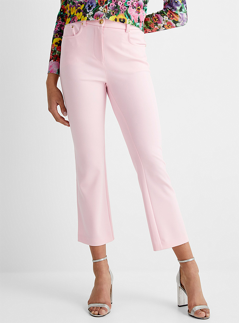 BOUTIQUE Moschino Pink Candy pink ankle pant for women