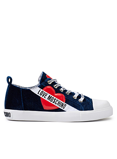 Romantic blue sneakers <br>Women