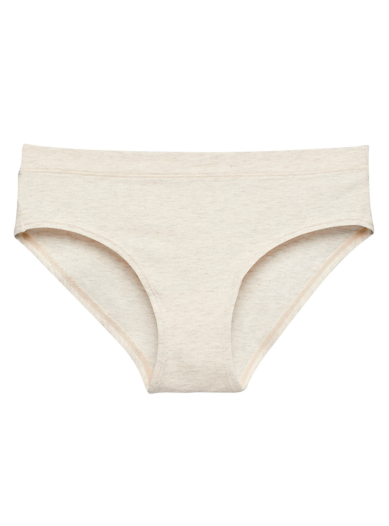 Miiyu Sand Organic cotton and modal colourful hipster for women