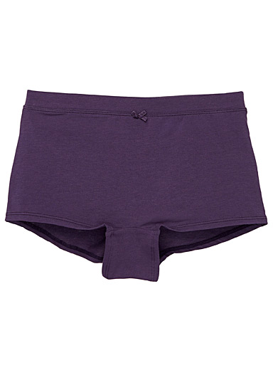 Cotton-modal boyshort