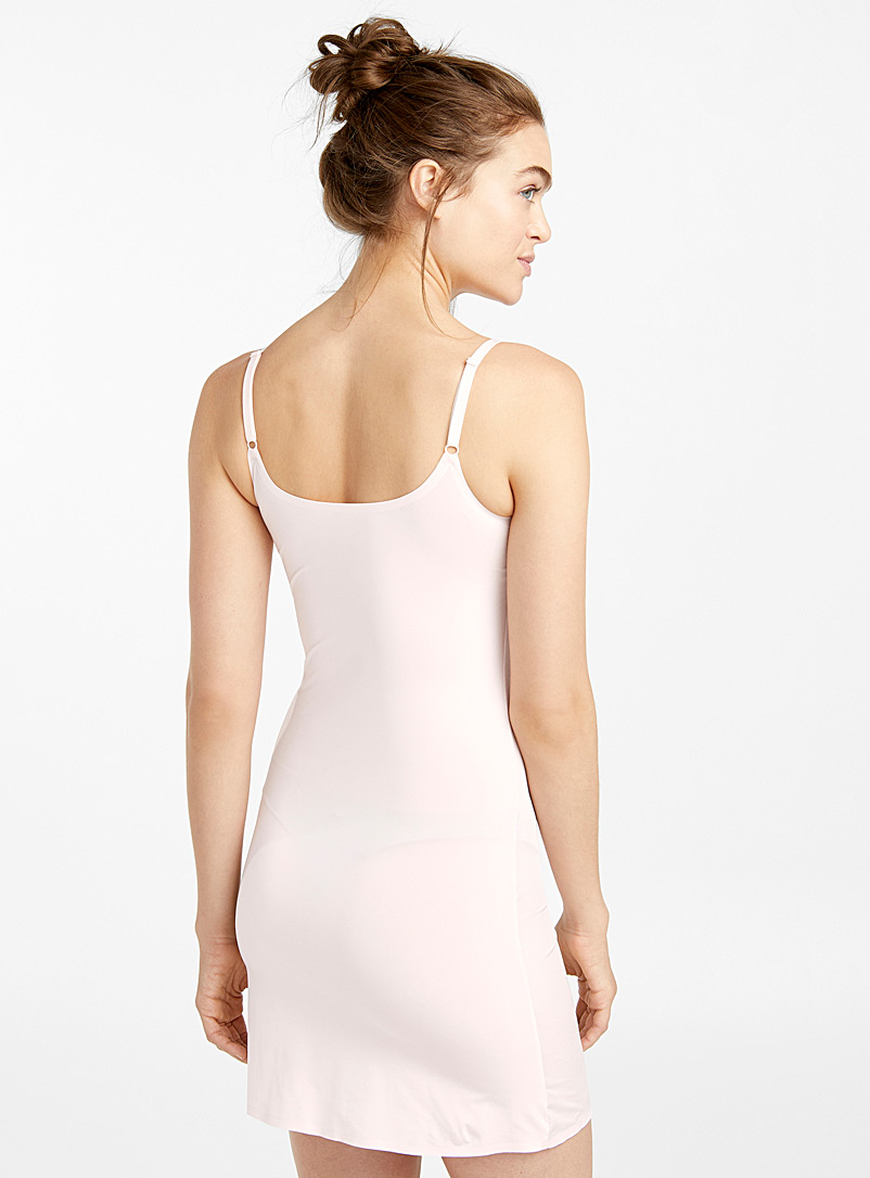 Miiyu Dusky Pink Slip with removable pads for women