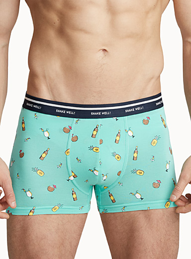 Printed bamboo trunk