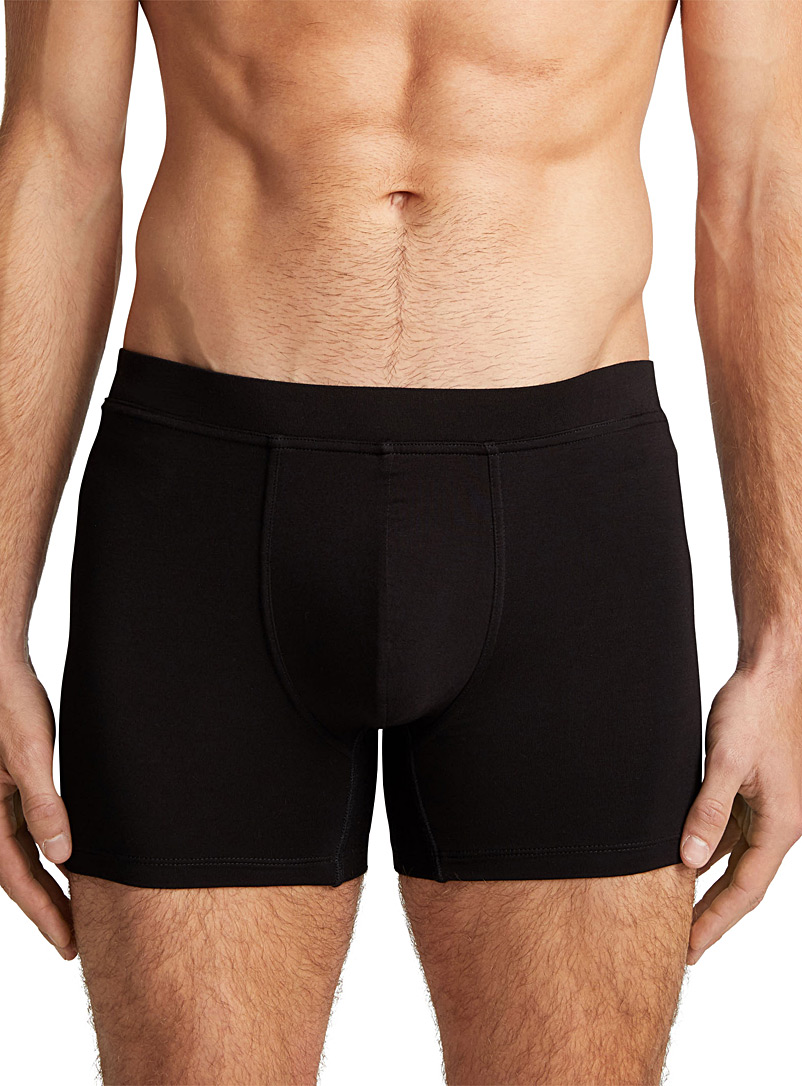 Bamboo boxer brief - Boxer briefs - Black