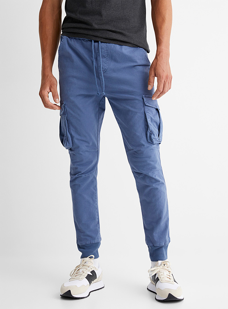 Le 31 Sand Cargo joggers for men