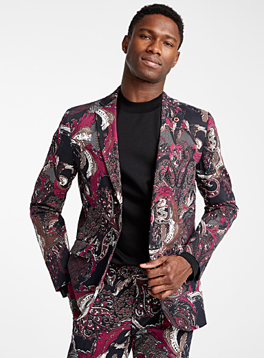 Baroque jacket  Semi-slim fit