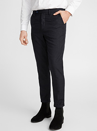 Etched stripe pant  Slim fit