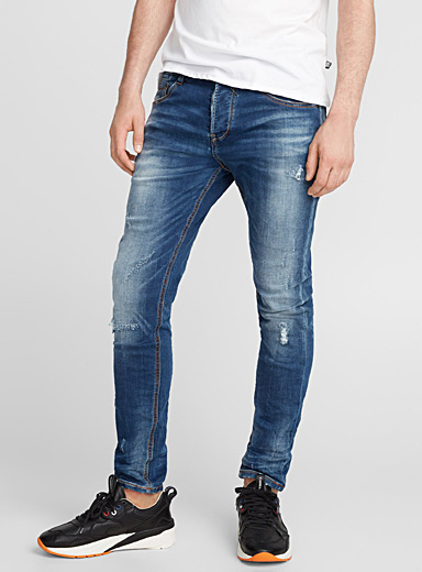 Distressed jogg-jean  Skinny fit