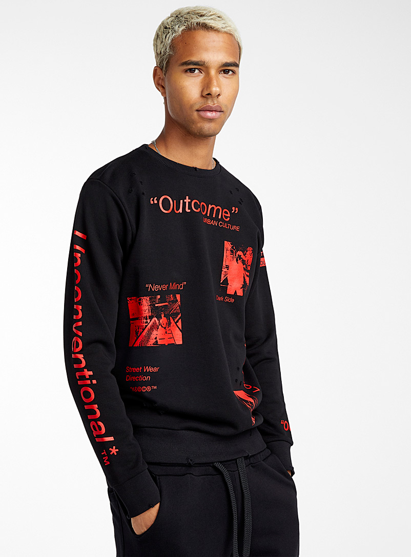Urban culture sweatshirt - Logo wear