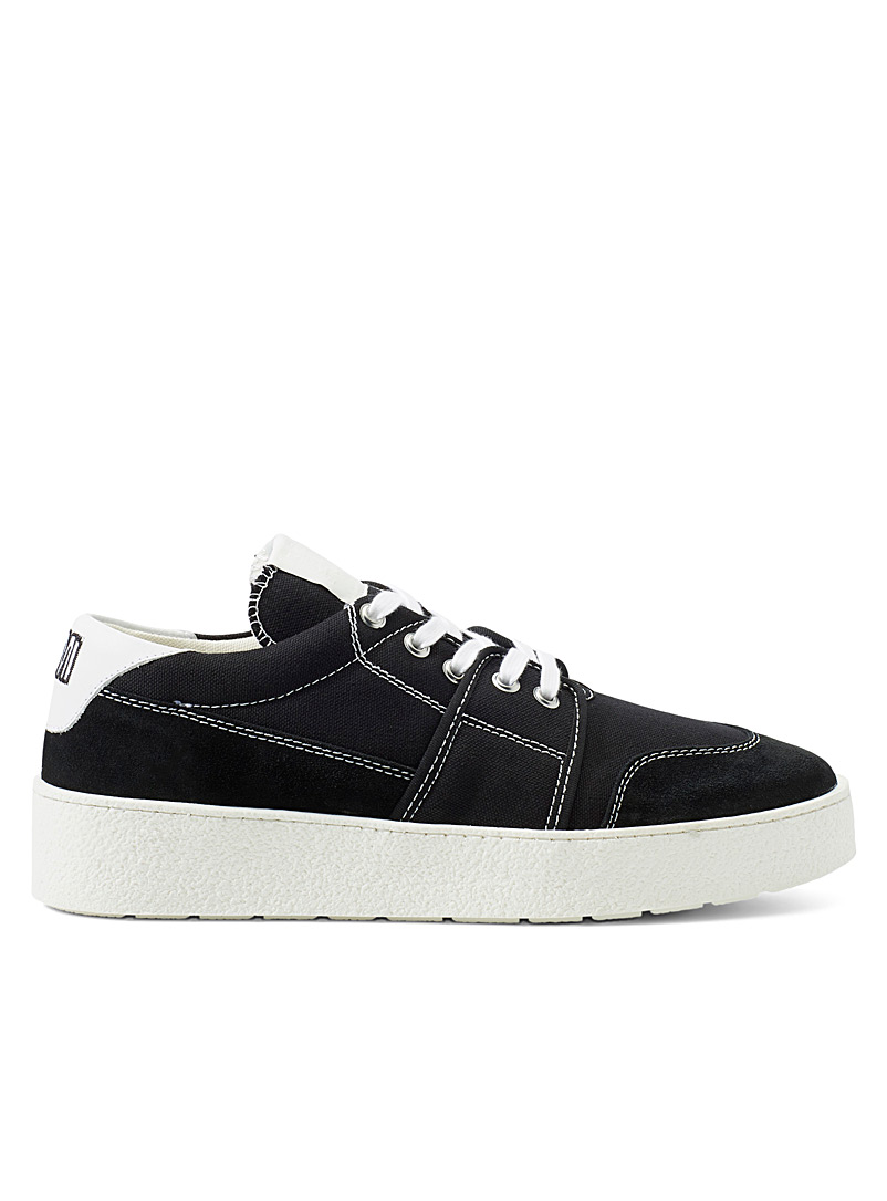 Ami Black Ami de Coeur sneakers for men