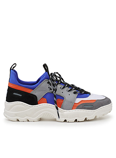 Colour block sneakers <br>Men