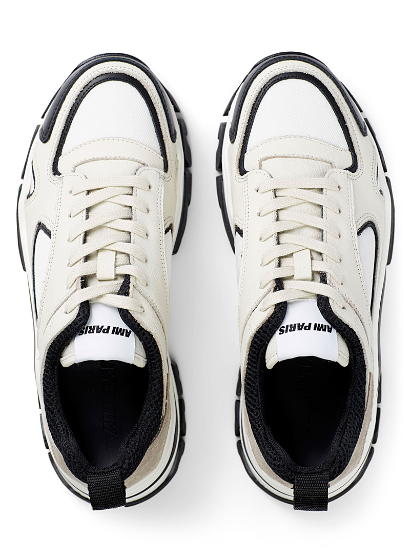 Ami Ivory White Daddy sneakers for men