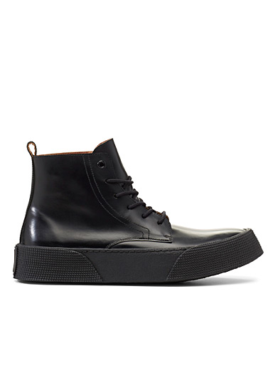 Ami Black High Top boots for men