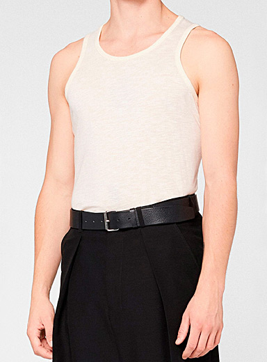 Ami Ivory White Ami tank for men