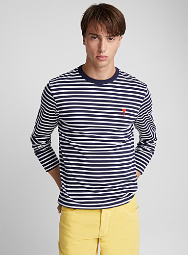 Ami de Coeur sailor stripe top