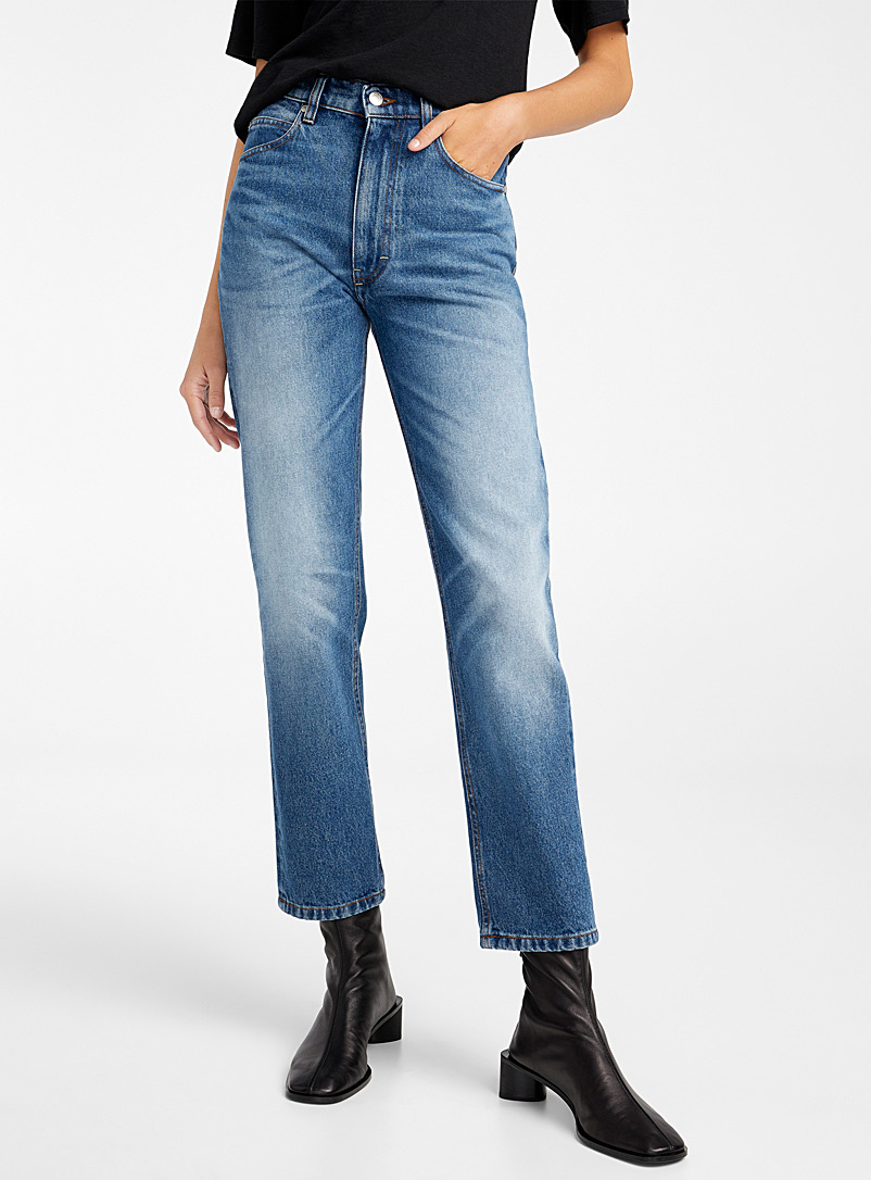 Straight-fit jean