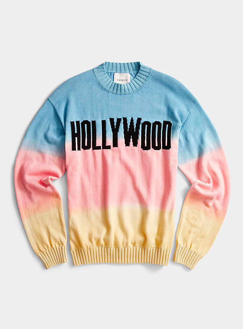 Laneus: Le pull Hollywood Assorti pour homme