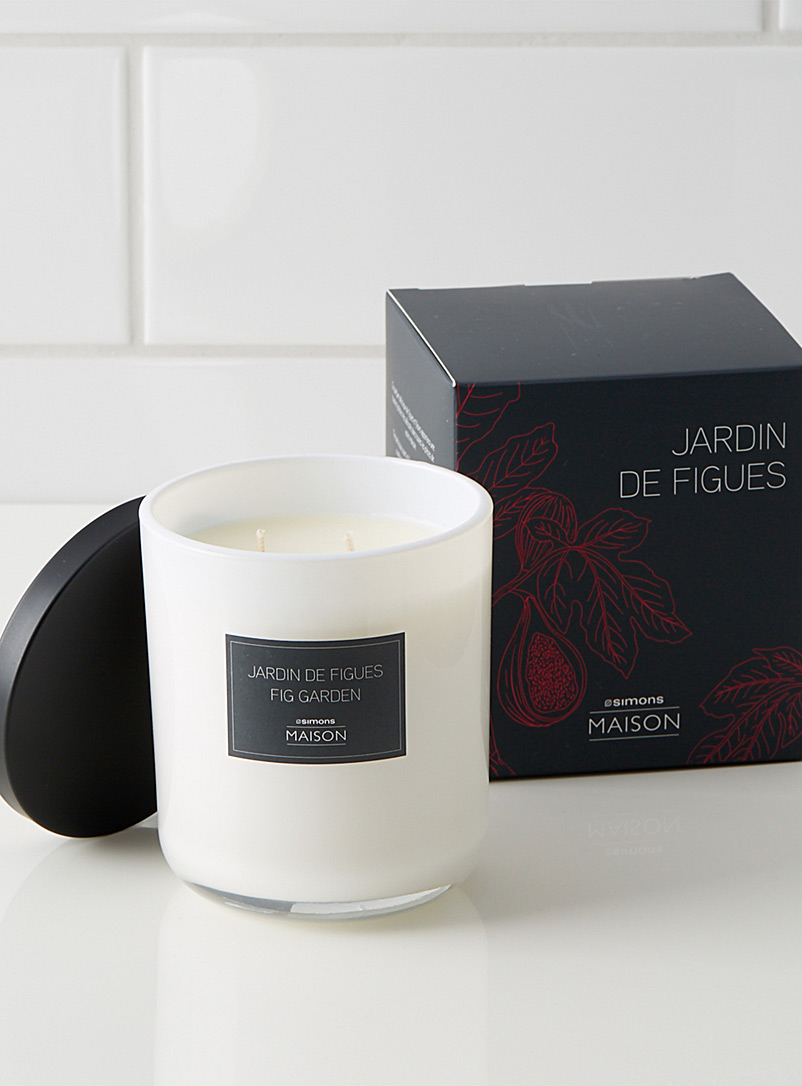 Simons Maison Assorted Fig garden candle