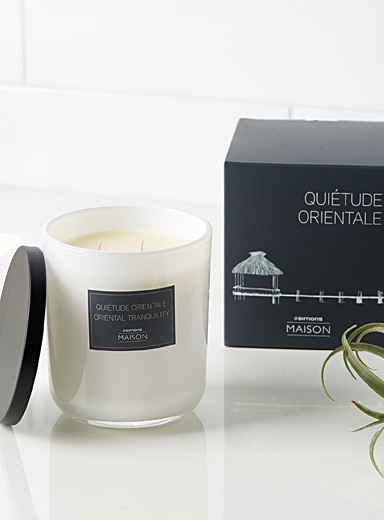 Oriental tranquility candle