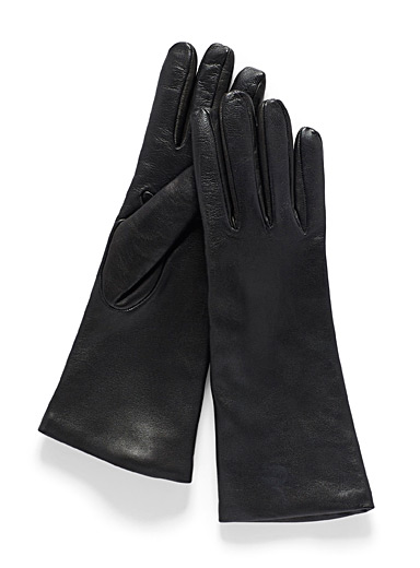 Essential supple leather gloves