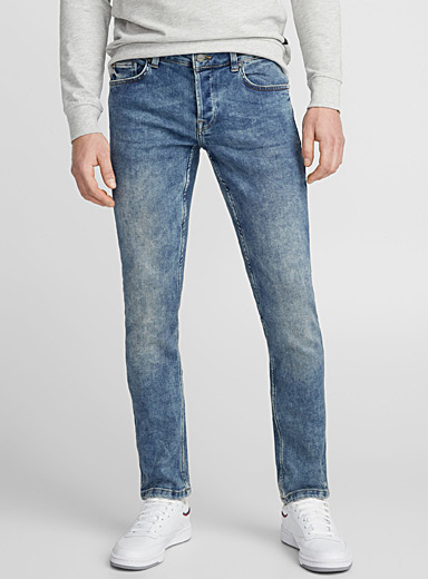 Faded blue jean  Slim fit