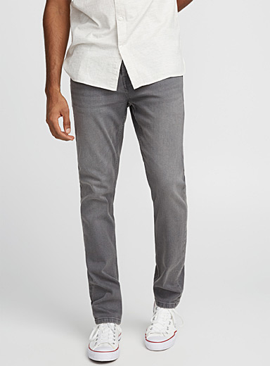 Faded pewter jean  Slim fit