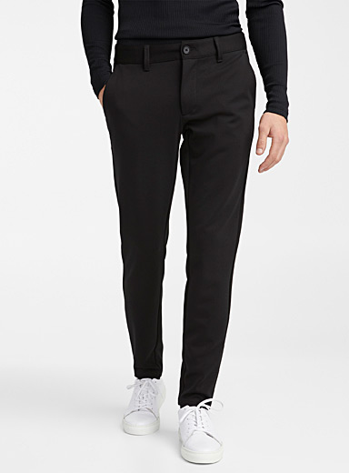 Heathered engineered jersey pant  Slim fit