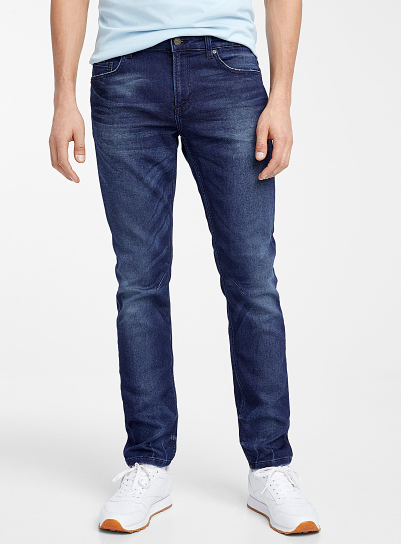 Only & Sons Blue Terry lined indigo jean  Slim fit for men