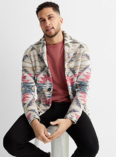 Le cardigan tricot nomade