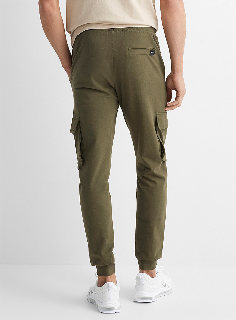 Only & Sons Mossy Green Cargo sweatpant for men