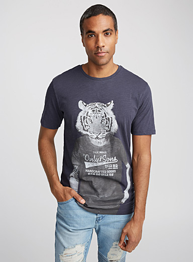 Urban animal T-shirt