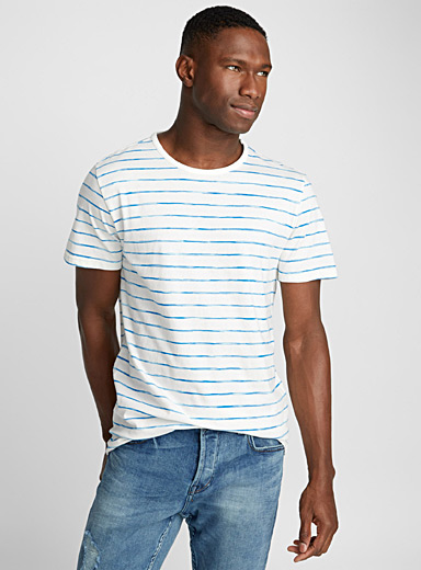 Traced stripe T-shirt