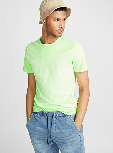 Faded neon T-shirt