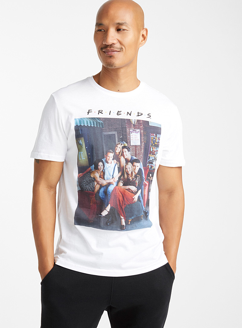 Friends T-shirt - Prints - White