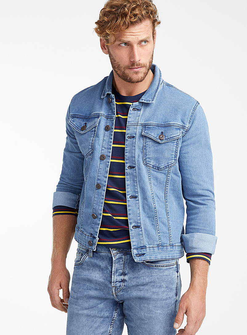 a47276609 Faded denim jacket