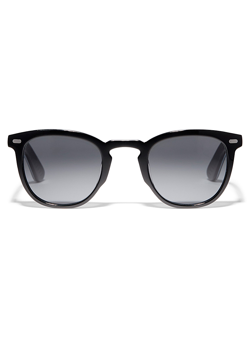 Spitfire Black Cut Nine square sunglasses for women