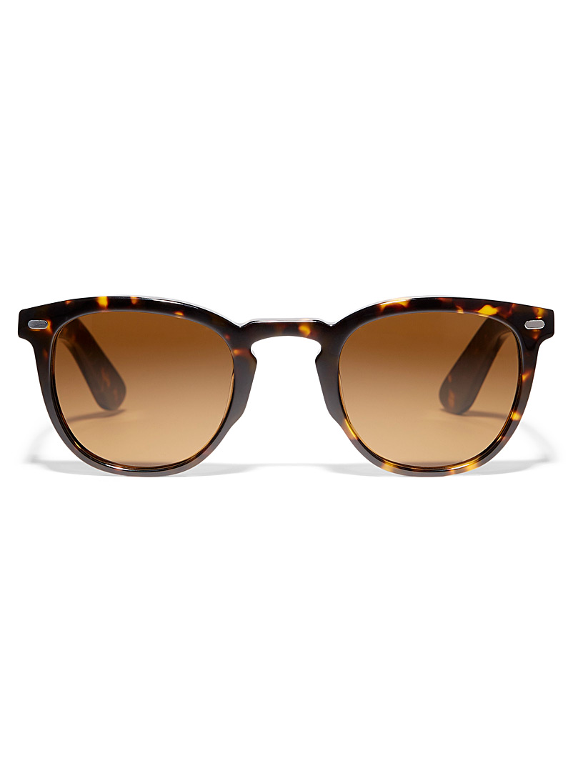 Spitfire Brown  Cut Nine square sunglasses for women