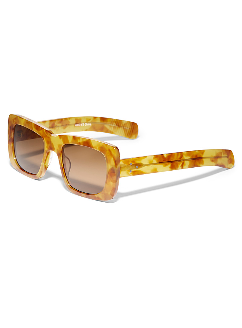 Spitfire Assorted  Cut Thirteen square sunglasses for women