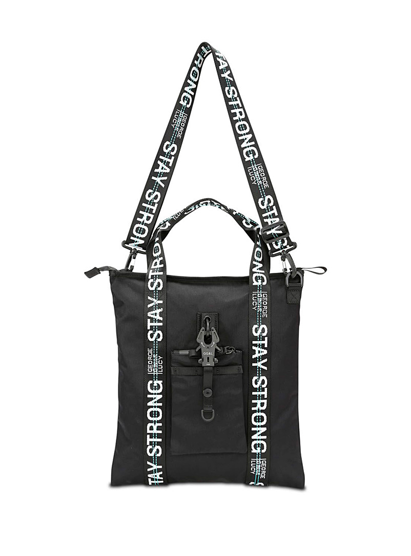 George Gina & Lucy Black XT3ND3D tote for women