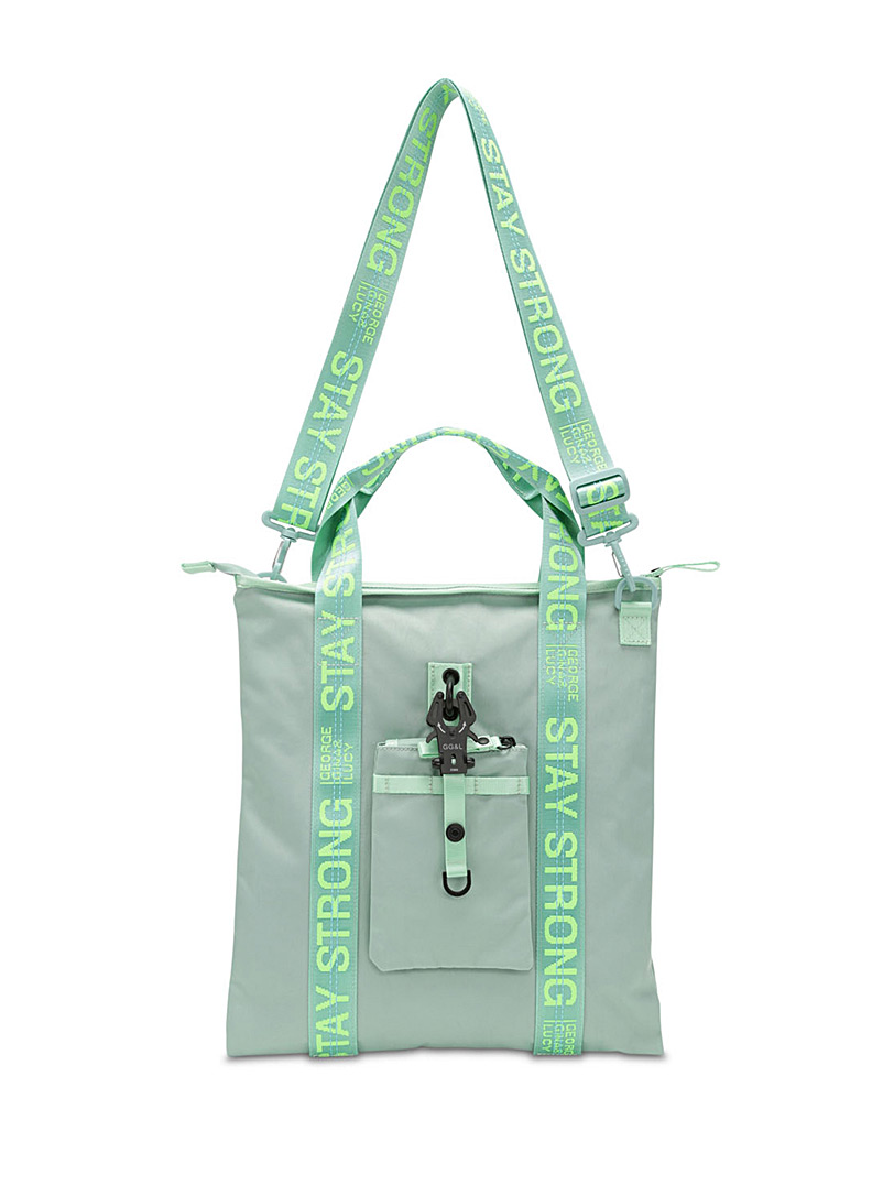 George Gina & Lucy Lime Green XT3ND3D tote for women