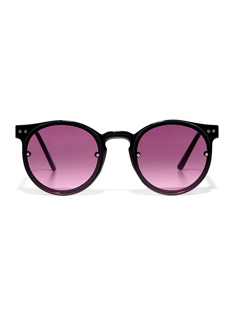 Post Punk round sunglasses