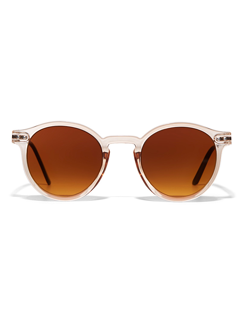 Spitfire Black British Summer round sunglasses for women